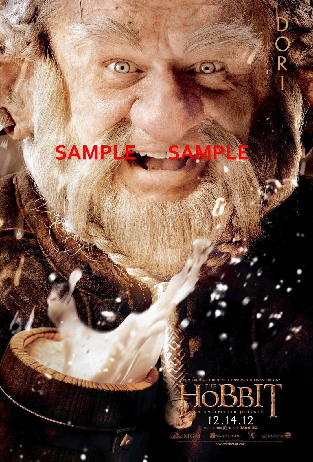 100686 The Hobbit An Unexpected Journey Movie Decor WALL PRINT POSTER AU