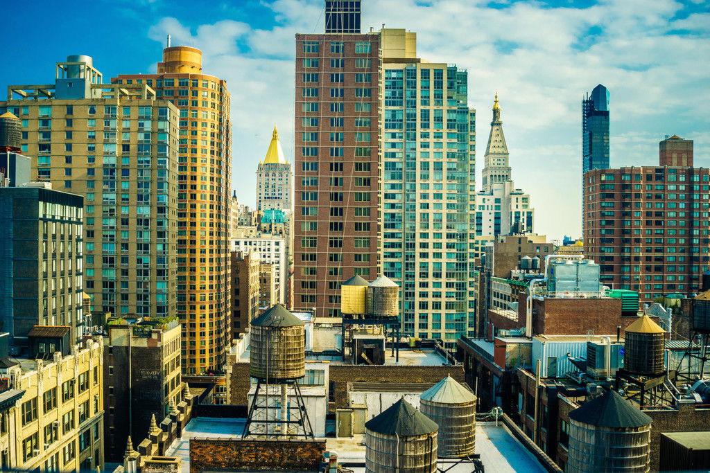 104254 Midtown Manhattan New York City Photo Art Art Art Decor WALL PRINT POSTER CA d5b811