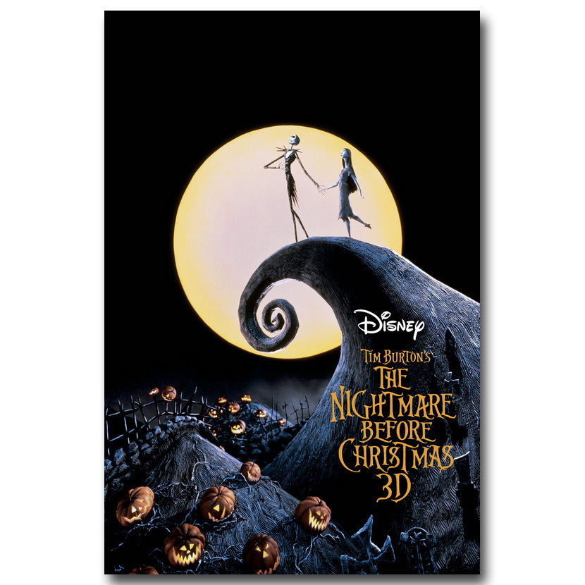 119046 The Nightmare Before Christmas Wall Decor Wall Print Poster