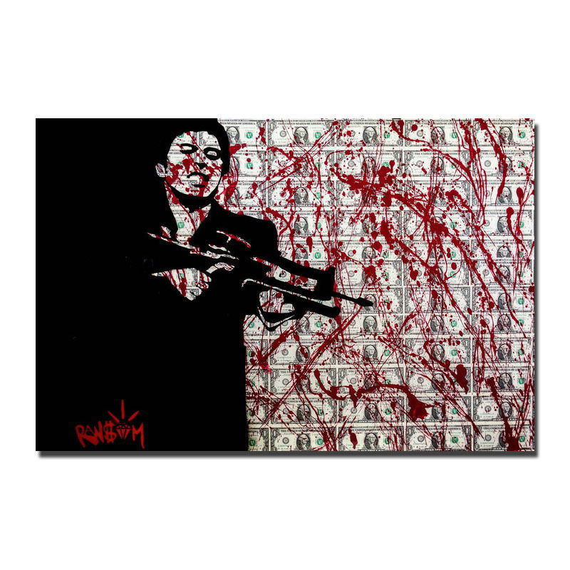 119078 Classic Gangster Films Scarface Home Decor Decor WALL PRINT POSTER AU