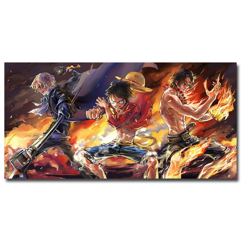 119290 One Piece Strong World Anime Decor WALL PRINT POSTER CA