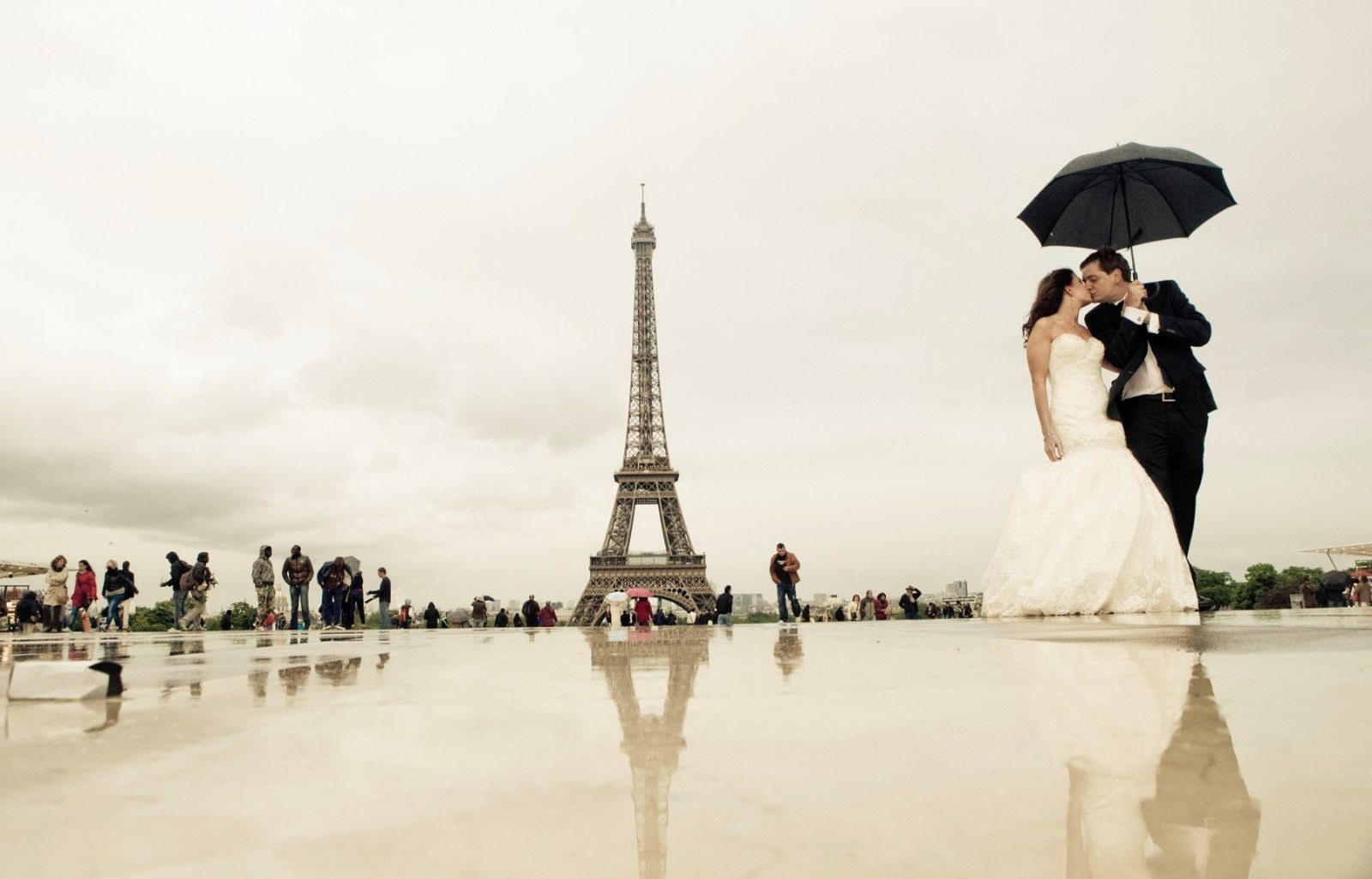 120162 Pretty Paris Romantic with Decor WALL PRINT POSTER AU
