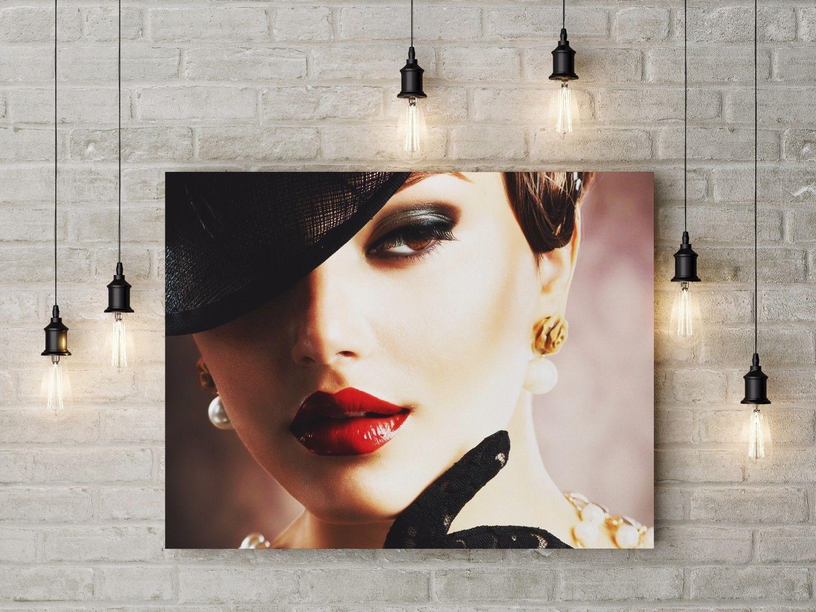 120429 Fashion Design Beautytyle Girl Vintagealo Makeup WALL PRINT POSTER AU