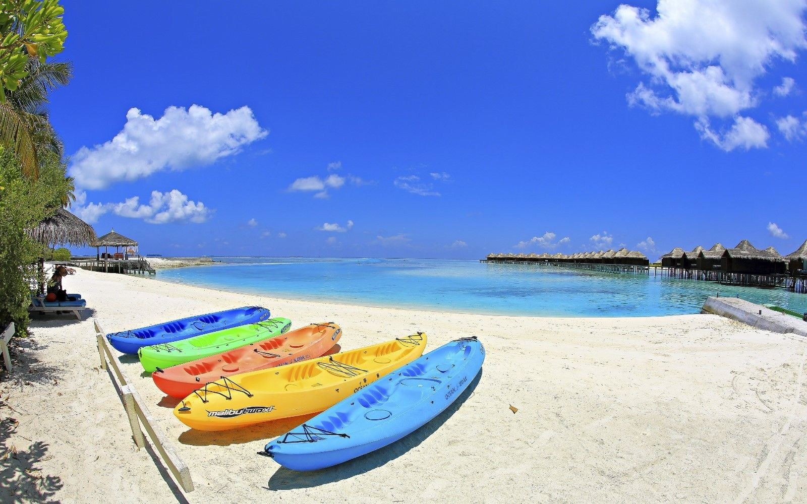 121157 Paradise Beach Ocean biancaand definition Decor WALL PRINT POSTER AU