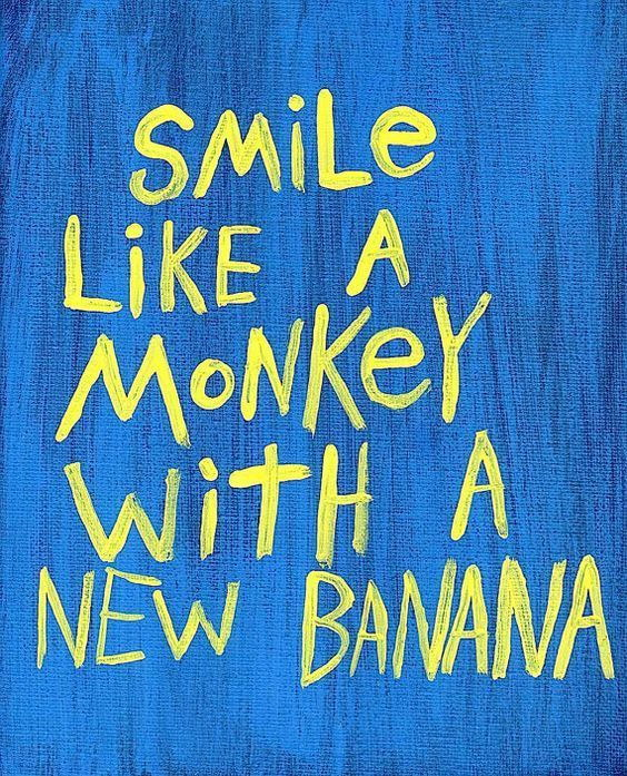 121267 Smile like a Quote Decor WALL PRINT POSTER AU