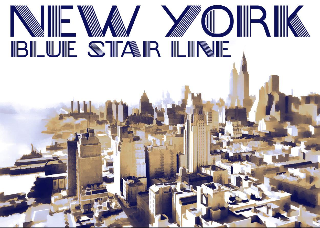 121448 Newyork Vintage Retro Decor WALL PRINT POSTER AU