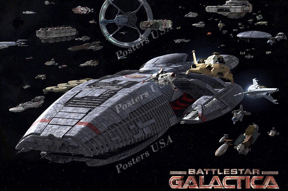 122776 USA Battlestar Galactica e Decor WALL PRINT POSTER AU