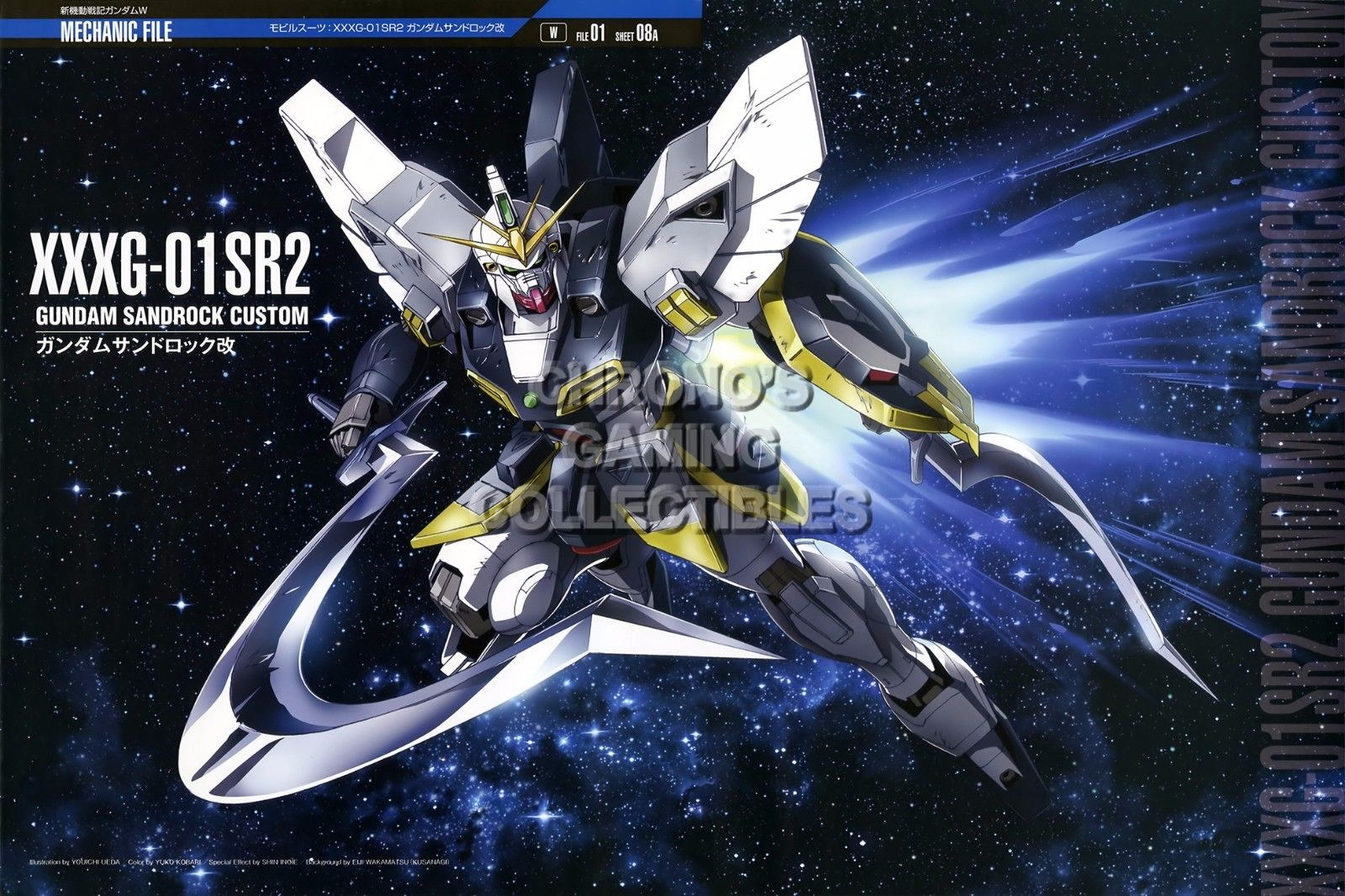 123103 Mobile Suit Gundam Wing Anime Decor WALL PRINT POSTER AU