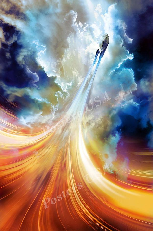 123619 USA Star Trek Beyon Decor WALL PRINT POSTER AU
