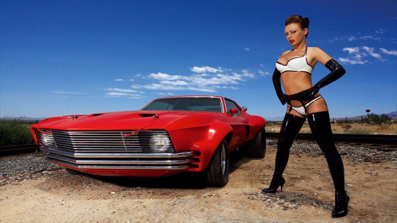 127318 Hot Car Decor WALL PRINT POSTER AU