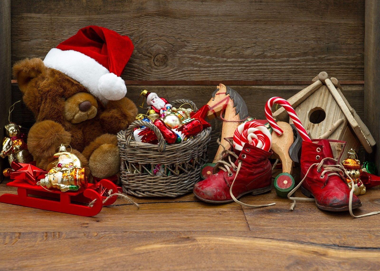 127349 Christmas year toys Decor WALL WALL WALL PRINT POSTER FR 9e54e9