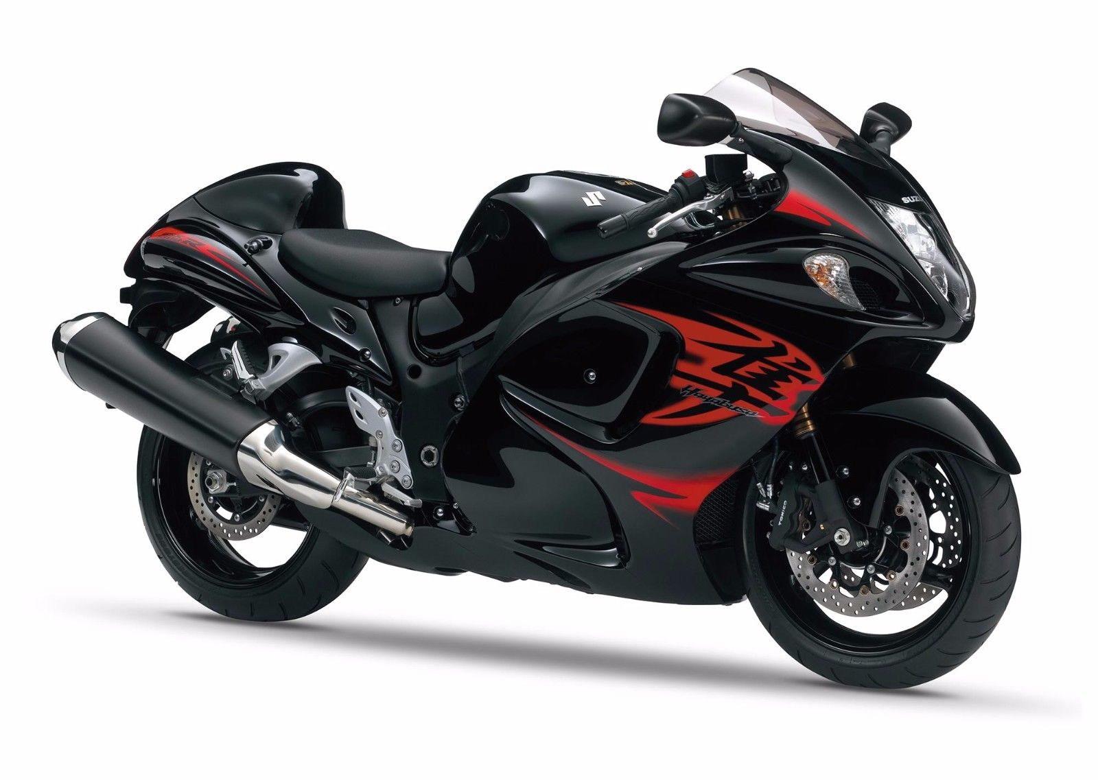 128077 Hayabusa Sportbike Matte Decor WALL PRINT POSTER AU