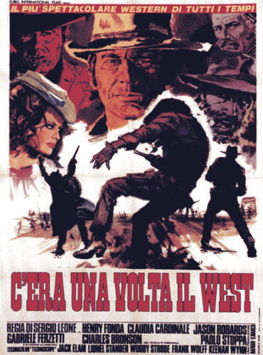 130318 Once upon a time in the west Decor WALL PRINT POSTER AU