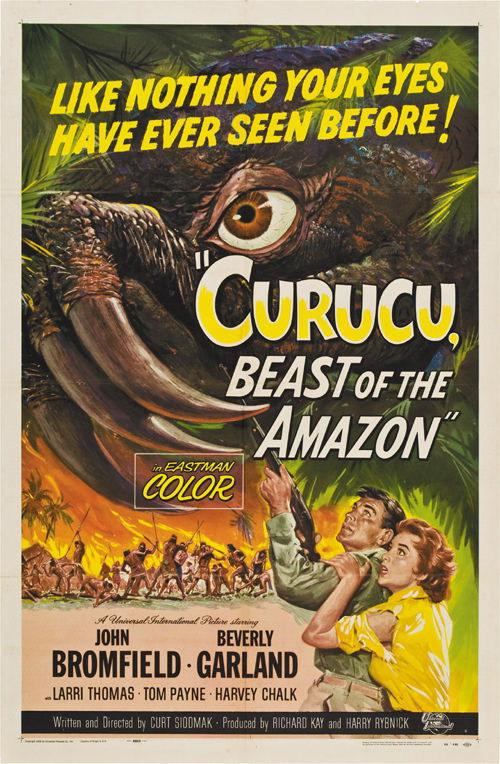 130826 Curucu, Beast of the Amazon  Horror Decor WALL PRINT