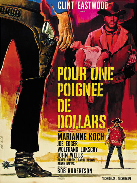 131743 A fistfull of dollars 1964 Clint Eastwood west Decor WALL PRINT POSTER AU