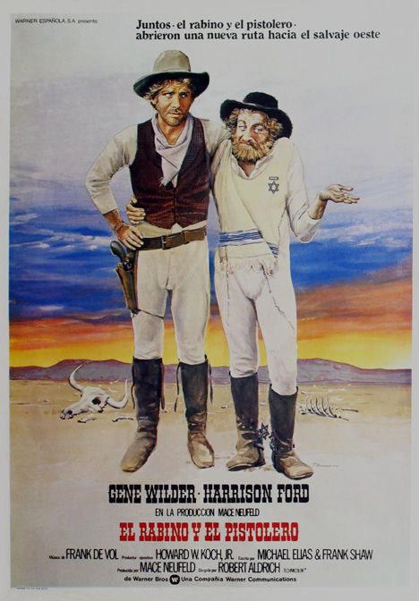 135082 The Frisco Kid Gene Wilder vintage Decor WALL PRINT POSTER AU