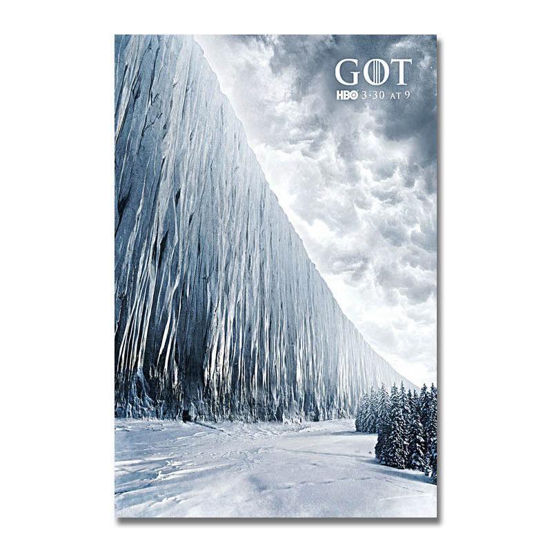 137769 Game Of Thrones Season 7 Show Seriesjon Snow Wall Print