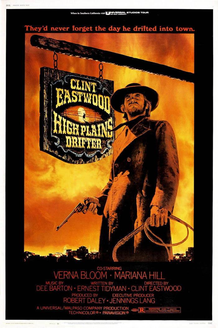 141784-HIGH-PLAINS-DRIFTER-Clint-Eastwood-Western-Wall-Print-Poster-Affiche