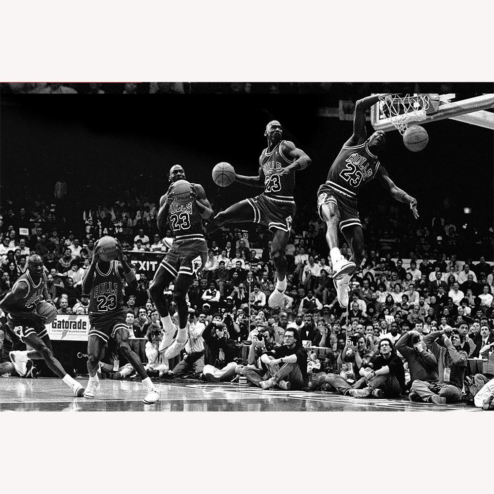 Michael Jordan in Deko-Bilder & Drucke günstig kaufen | eBay