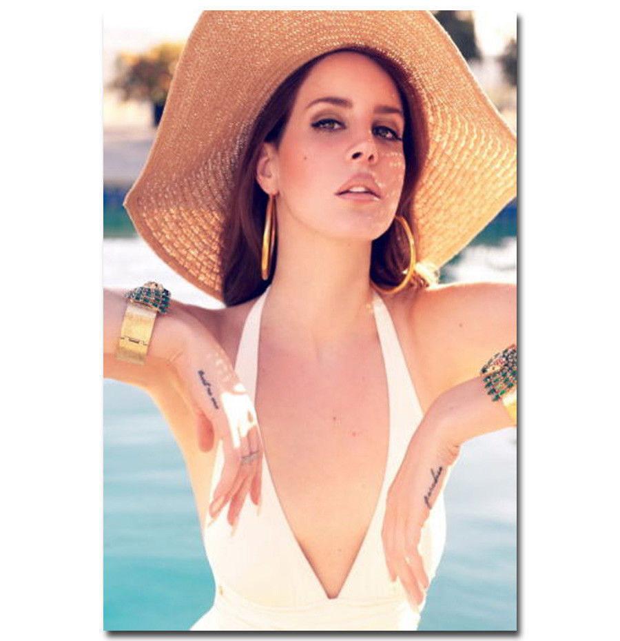 143679-Hot-Lana-Del-Rey-Singer-Soul-Music-Star-FRAMED-CANVAS-PRINT-UK