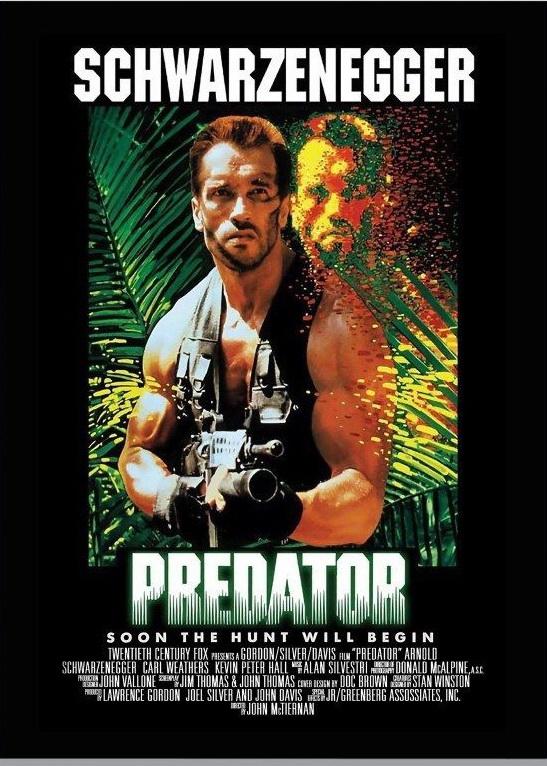 146397-Predator-Movie-Arnold-Schwarzenegger-Wall-Print-Poster-Affiche
