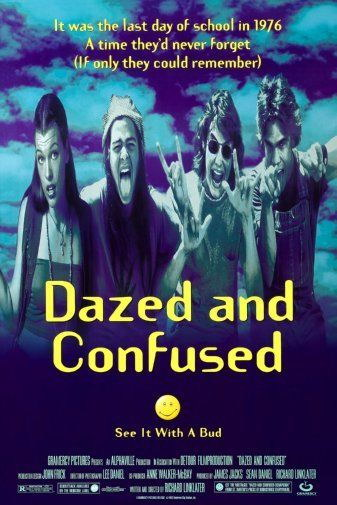 147393 Dazed And Confused Movie Wall Print Poster UK
