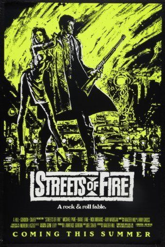 148155 Streets Of Fire Movie Decor Wall Poster Print