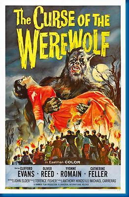 150239 Curse Of The Werewolf Movie Decor Wall Poster Print CA