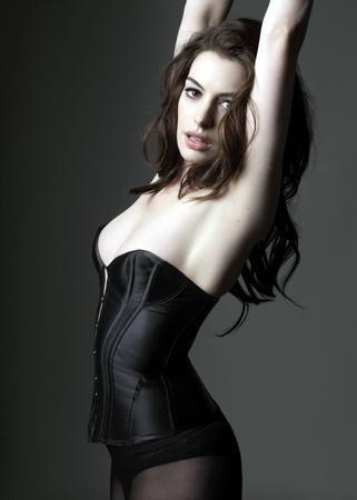 150349 Anne Hathaway Decor Wall Poster Print CA
