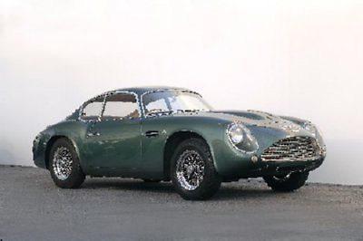 150355 Aston M Db4 Zagato Decor Wall Poster Print CA