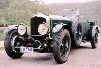 150492 Bentley 1929 Decor Wall Poster Print CA