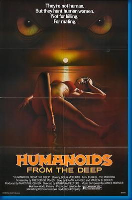 150661 Humanoids From The Deep Movie Decor Wall Poster Print CA