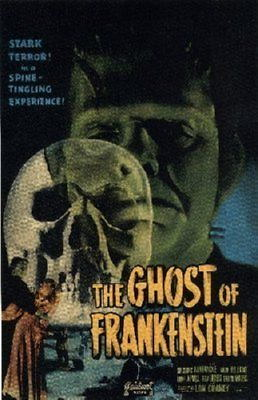 150811 Ghost Of Frankenstein Decor Wall Poster Print CA