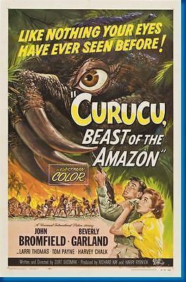 150855 Curucu Beast Of The Amazon Movie Decor Wall Poster Pr