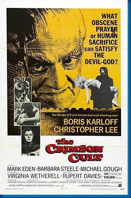 150897 Curse Of The Crimson Altar Movie Decor Wall Poster Print CA