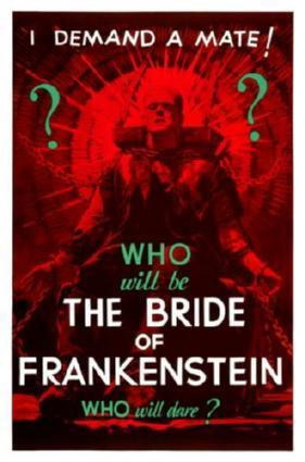 150966 Bride Of Frankenstein Movie Decor Wall Poster Print CA