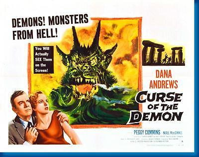151043 Curse Of The Demon Movie Decor Wall Poster Print CA