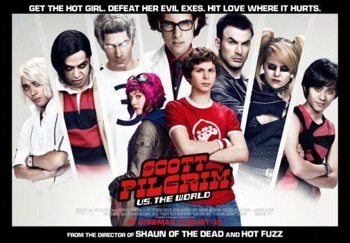 151243 Scott Pilgrim Vs The World Movie Decor Wall Poster Print CA