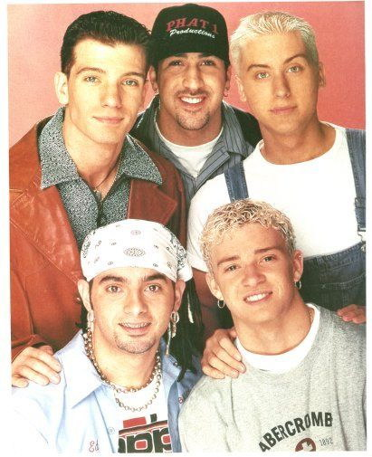 151704 Nsync Decor Wall Poster Print CA