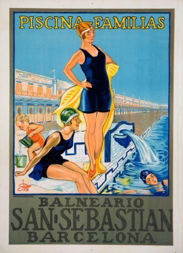 151954 Spain Tourism Adverdeising Decor Wall Poster Print CA