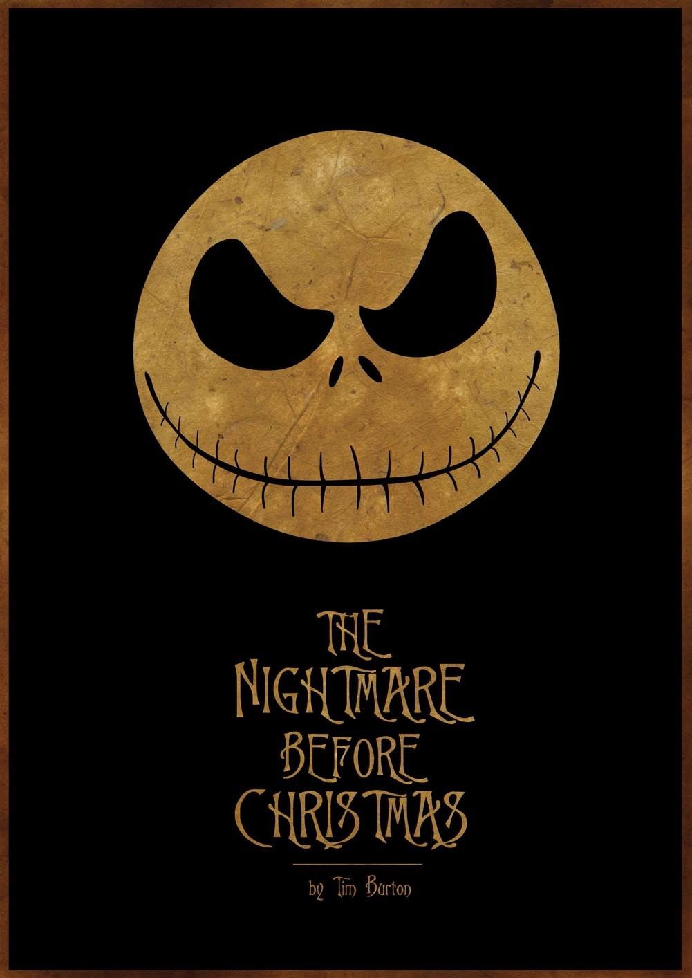 156377 The Nightmare Before Christmas Jack Movie Wall Print Poster ...