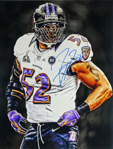 158928 Ray Lewis Baltimore Ravens Football NFL Top Wall Print Poster  free shipping