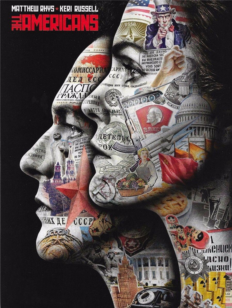 167448 The Americans TV Series 2015 Movie Decor Wall Print P