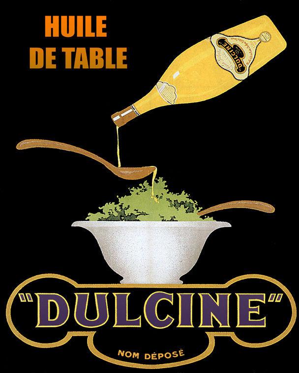 171607 Olive Oil Salad Dulcine Food European Decor WALL PRINT POSTER US