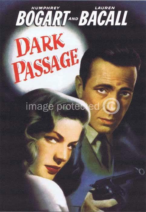 174615 Dark Passage Humphrey Bogart Vintage Movie Decor WALL PRINT POSTER CA