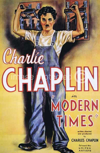 174783 Modern Times Charlie Chaplin Vintage Movie Decor WALL PRINT POSTER CA