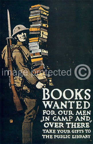 Details about 174805 Books Wanted Our Men WWI US Army Vintage Decor WALL  PRINT POSTER AU