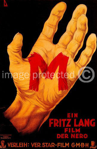 175043 M Fritz Lang Vintage Movie Decor Wand Drucken POSTER FR