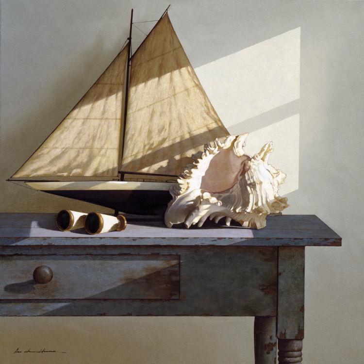 175855 COASTAL Days Gone By by Zhen Huan Lu Sailboat Decor WALL PRINT POSTER CA
