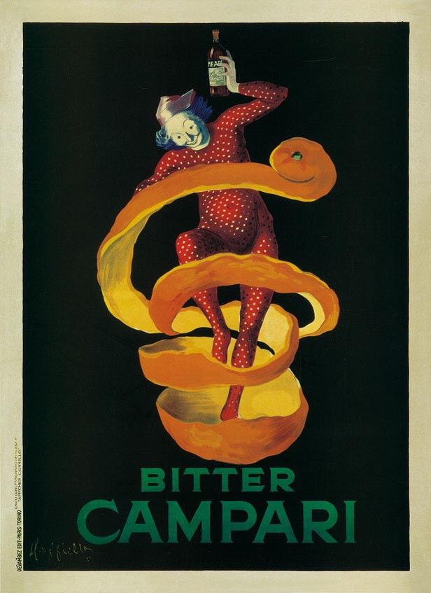 175949 VINTAGE BAR BITTER CAMPARI by Leonetto Cappiello WALL PRINT POSTER US